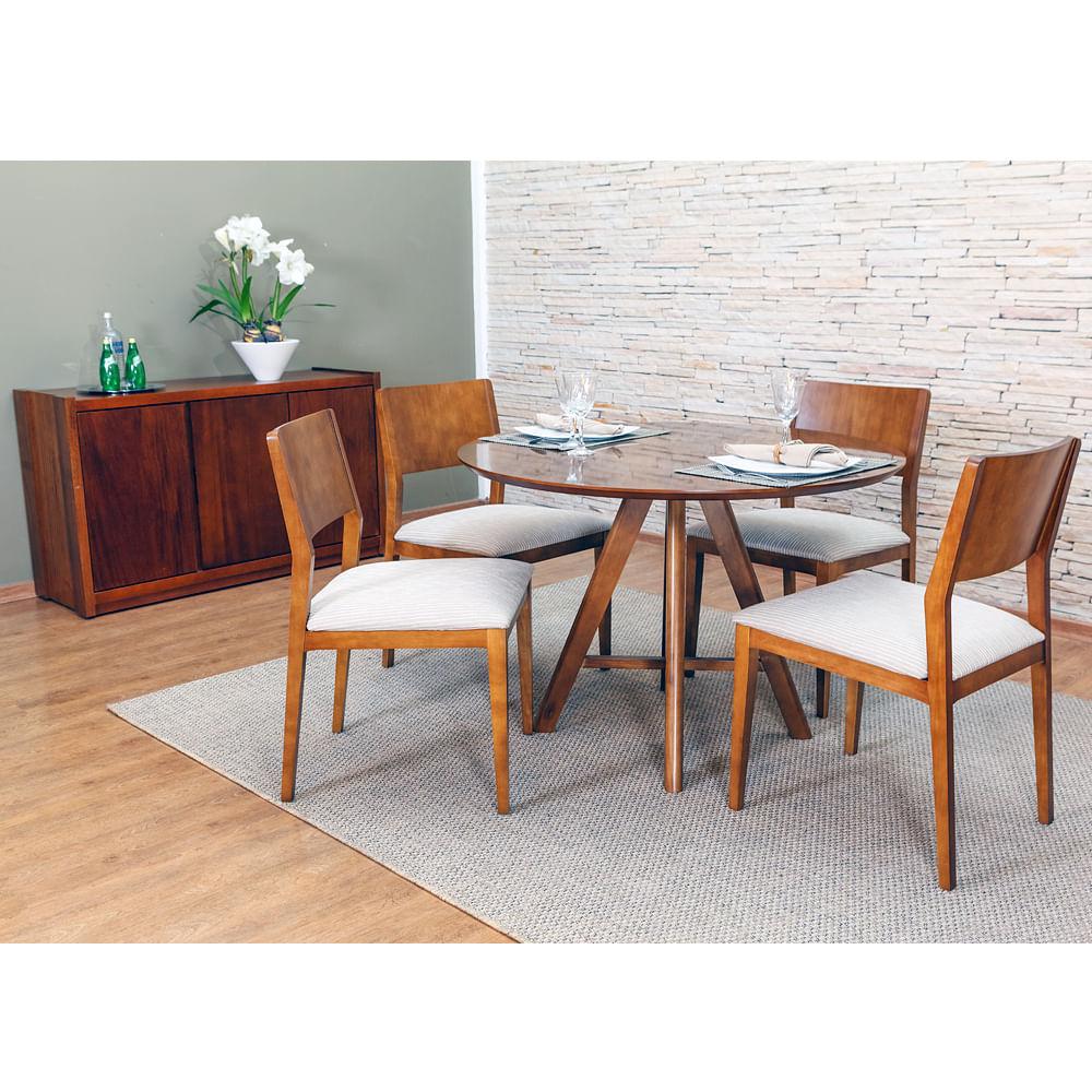 Mesa Redonda Para Cozinha Com 4 Cadeiras Oppenau Info -> Sala De Jantar Pequena Mesa Redonda Ou Retangular