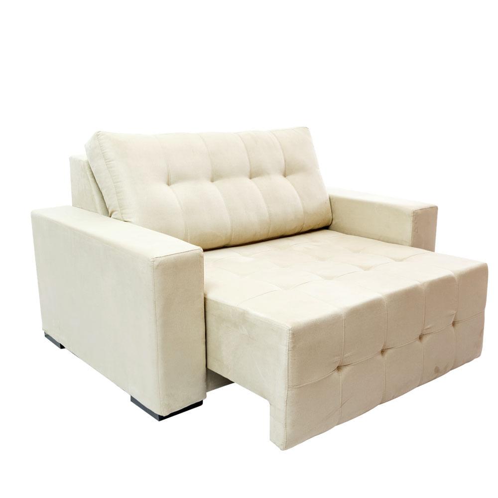 Sof retr til 2 lugares bege fusion toqueacampainha - Sofas cama de 1 20 cm ...