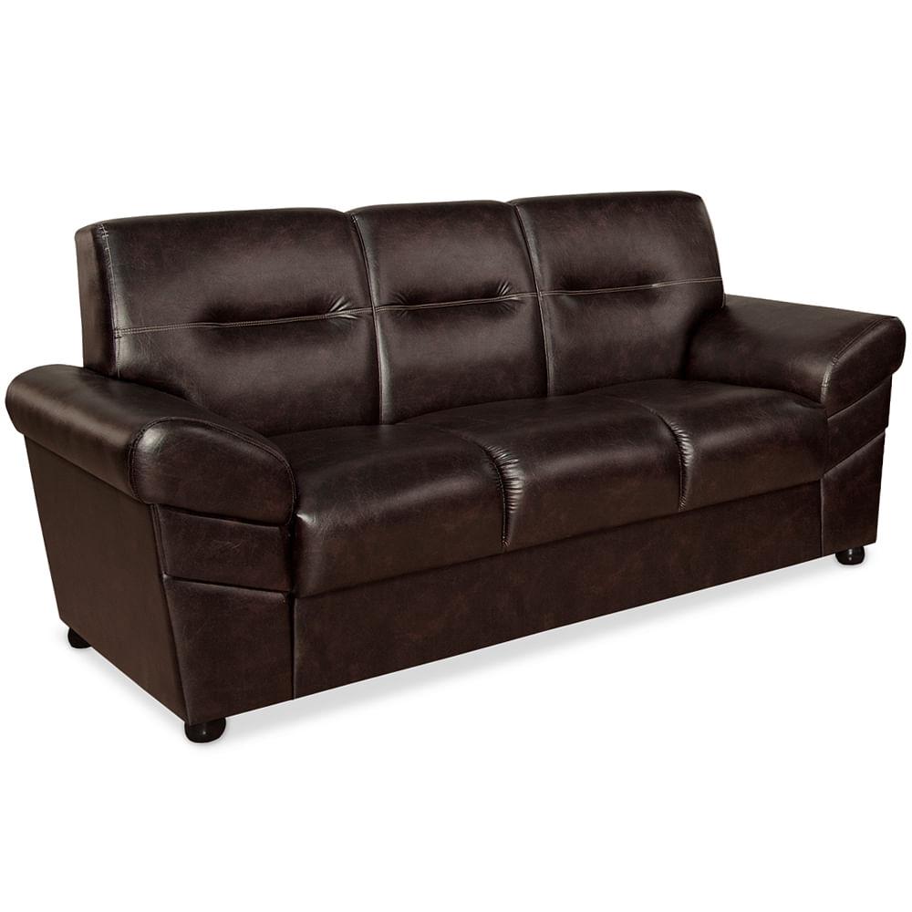 sof 3 lugares corino caf rivera ii toqueacampainha. Black Bedroom Furniture Sets. Home Design Ideas
