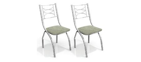 Kit com 2 cadeiras
