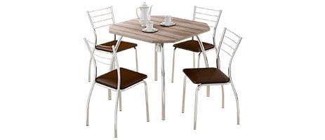 Mesa com Cadeiras 4 Lugares