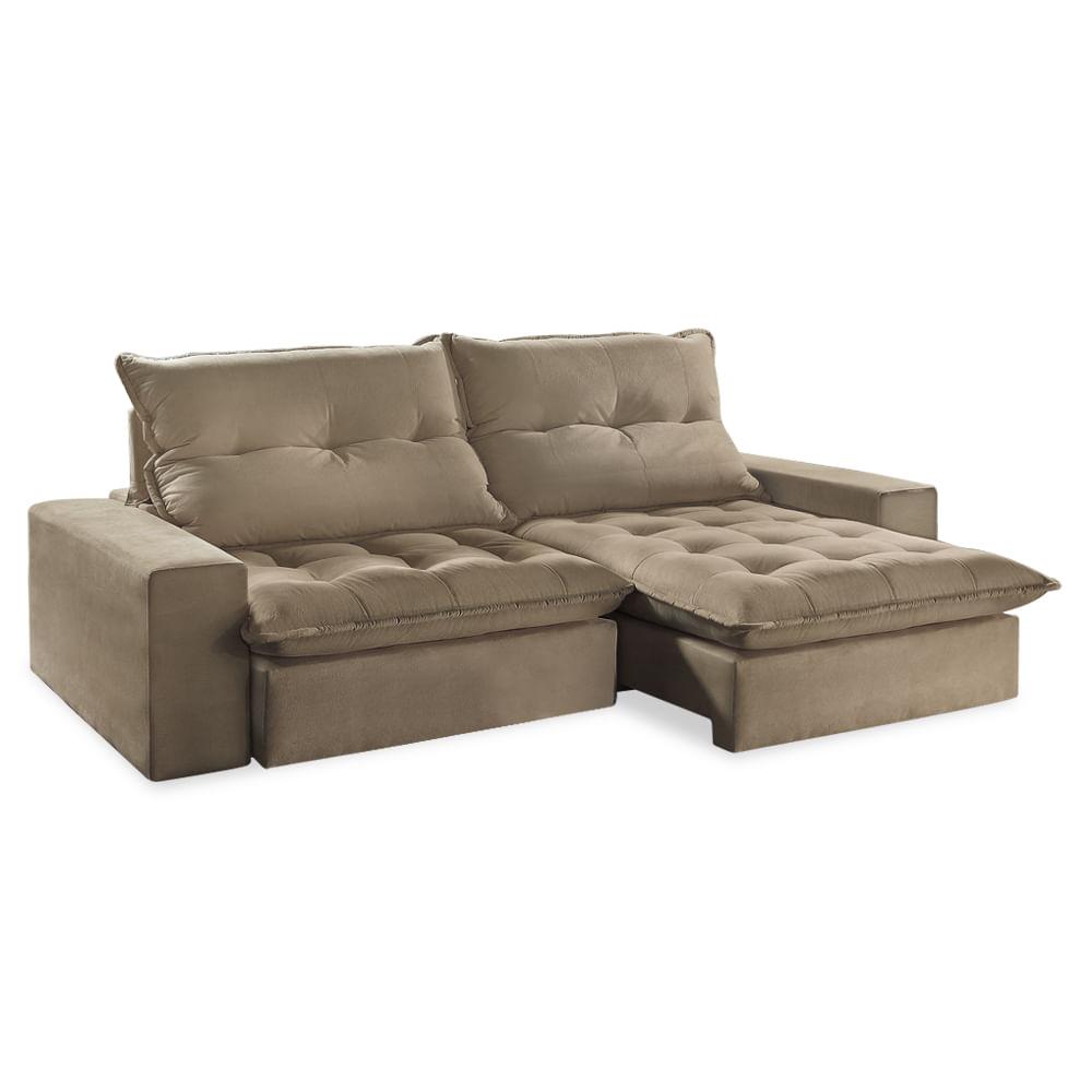 sofa retratil. sof retrtil 290 p em madeira tabaco suede chocolate itlia sofa retratil