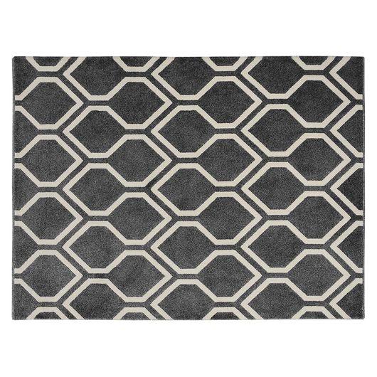 Tapete Classic Retangular 1,50 x 2,00, Cor - 28/67 Gris
