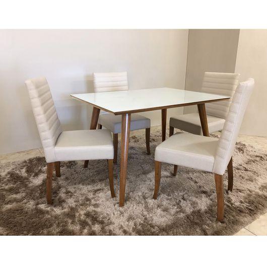 Mesa De Jantar Com 4 Cadeiras Em Oferta Toque A Campainha