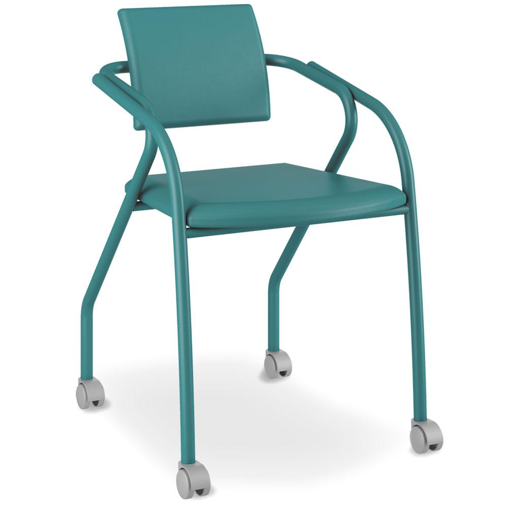 Cadeira De Escrit Rio Com Rod Zios Azul Turquesa Fox  ~ Escritorio No Quarto De Casal E Quarto Casal Azul Tiffany