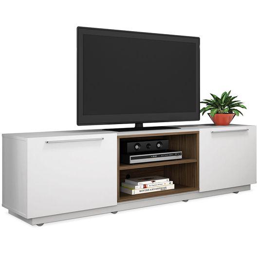 Adesivo De Parede Da Minnie ~ Rack Baixo E Comprido Home Painel Rack Vidratto P Tv Sala Estar Vidro Led Imcal Mvel Tv Portas